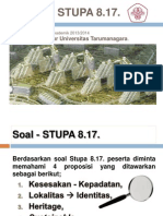Proposal Stupa 8.17