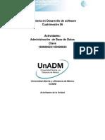 DABD Actividades de La Unidad 1