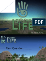 Second Life paper presentation