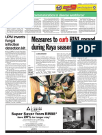TheSun 2009-09-15 Page06 Measures to Curb h1n1 Spread During Raya Season