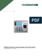 AFR8630 User Manual R0120