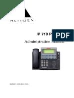 Http Www.altigen.nl Klanten System Manuals Altiserv-phone-manuals IP 710 Phone Admin Manual