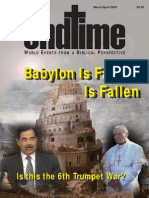 Endtime March April 2003