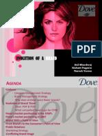 Dove-evolution of a brand