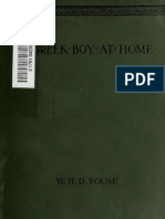 Greek Boy at Home - WHD Rouse