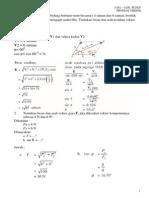 Soal Soal Fisika Tentang Vektor