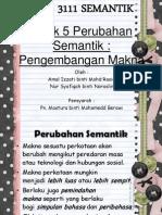 152631630-TAJUK-5-pengembangan-makna