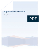 eportfolio reflection