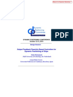 Output Feedback Passivity Based Controllers for