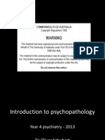 Introduction to Psychopathology (1)