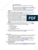 Practice Questions Industrial Microbiology