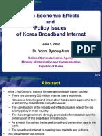 Korea Broadband Study
