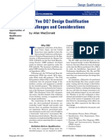 what is design qualification