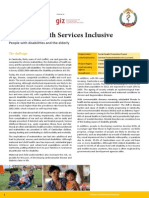 Making Health Services Inclusive