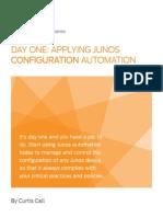 Applying Junos Configuration Automation