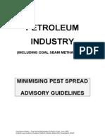 IPA Minimising Pest Spread Advisory Guidelines
