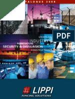 Fencing & gates solutions - Lippi 2008 Catalogue