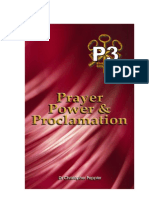 Prayer, Power, and Proclamation