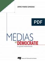 Médias et démocratie - Le grand malentendu (3e édition)