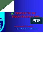 PROYECTO PRESUPUESTO 2009 DE LEGANES