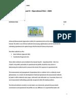 Basel II - Operational Risk - AMA
