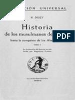 178354584 Dozy Reinhart Historia de Los Musulmanes de Espana I Epub