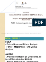 Modulul 2 FMEA Suplimentar