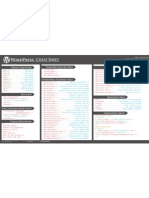 Wordpress Cheat Sheet