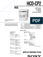 Sony HCD-CP2