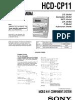 Sony HCD-CP11