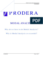 Why is Modal Analysis So Essential