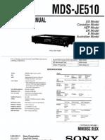 Sony HSD-JE510