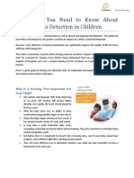 Everything You Need to Know About  Hearing Loss Detection in Children