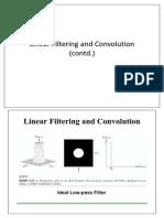 Linear Filtering 2