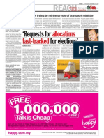TheSun 2009-09-10 Page04 Requests for Allocations Fast-tracked for Elections