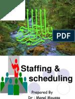 Staffing&Scheduling