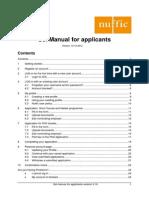 Sol Manual for Applicants 1