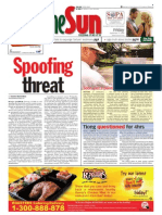 TheSun 2009-09-11 Page01 Spoofing Threat