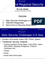 ASEAN & Regional Security