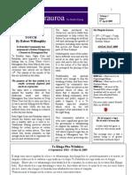 Pipiwharauroa Te Rawhiti Newsletter Volume 1 Issue 7