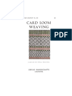 1 Card Weaving