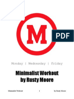 Minimalist Workout