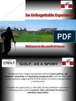 About Golf Events