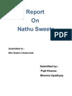 Analytical Report on Nathu Sweet