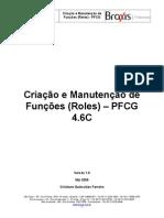 Manual Criação Manutenção de Função - PFCG