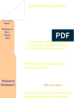Stastic Data Flows