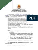 Acta Junta Distrito Beiro Diciembre 2013