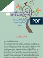 Ringkasan SKN 2004,2009,2012