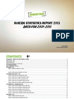 Samaritans Suicide Statistics Report 2013