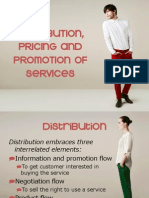 Lesson 5 - Distribution, Pricing and Promotion of Services